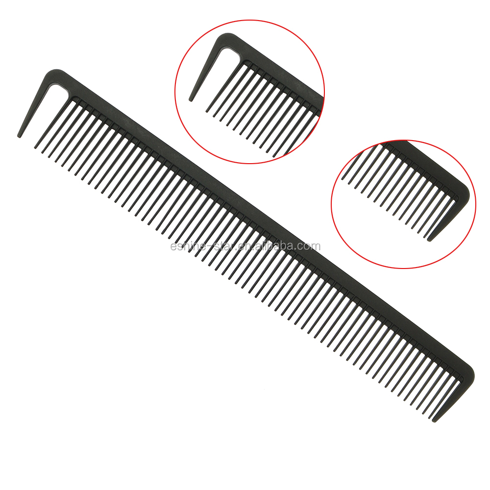 high quality professional carbon comb for hair salon