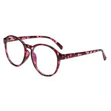1 шт. Горячая модная рамка для очков для женщин Винтажная прозрачная оправа круглые очки для глаз женские пластиковые прозрачные оправы для ...(Китай)