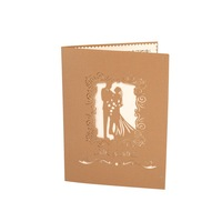 3d Greeting New Design Hotsale wedding invitation cards ,Handmade cards wedding