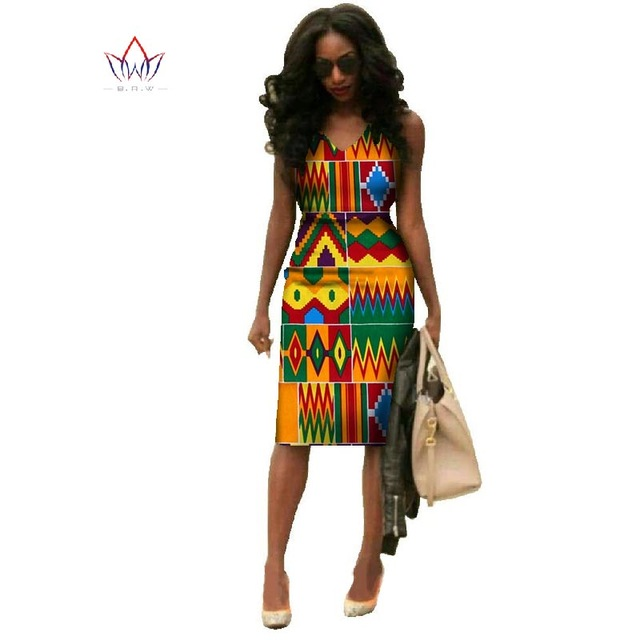 WY237 robes traditionnelles africaines pour femmes Dashiki grande taille mode africaine cire impression robes Bazin Riche robes d'afrique