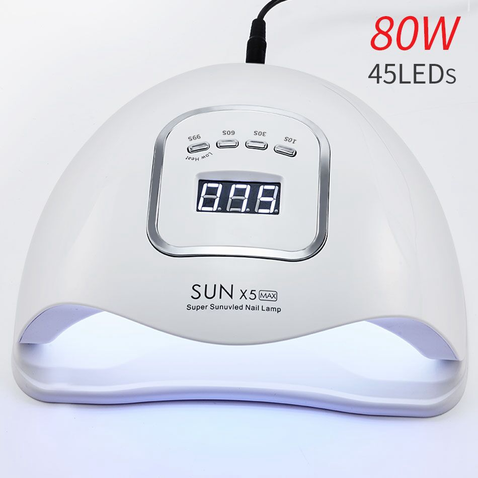 SUNX5 PLus New Professional 54W Top Sale UV Nail Lamp