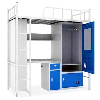 Loft Bed With Computer Desk Bunk Bed With Desk College Dorm Loft