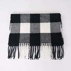 Plaid Stoles Scarf Home Stole Shawl Winter Warm Pashmina For Neck
