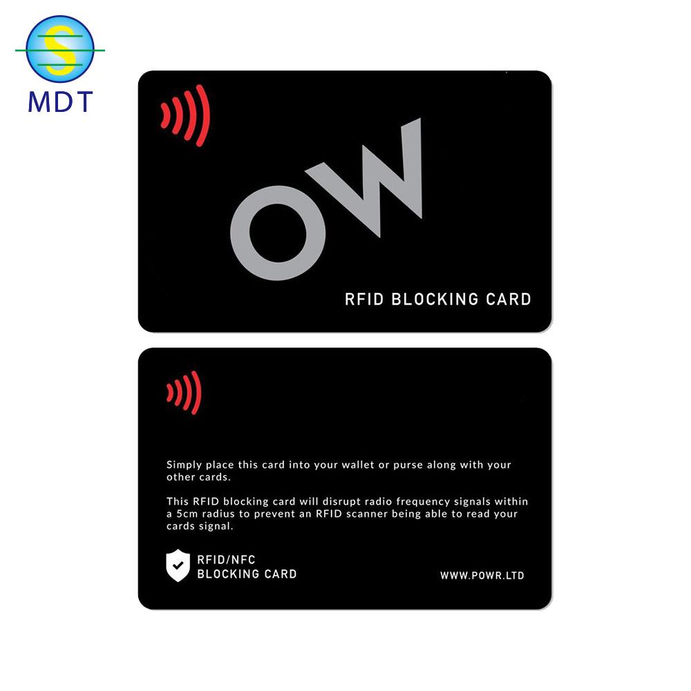 Mdt  O plastic pvc Visit card both sides printing gift card promotion
