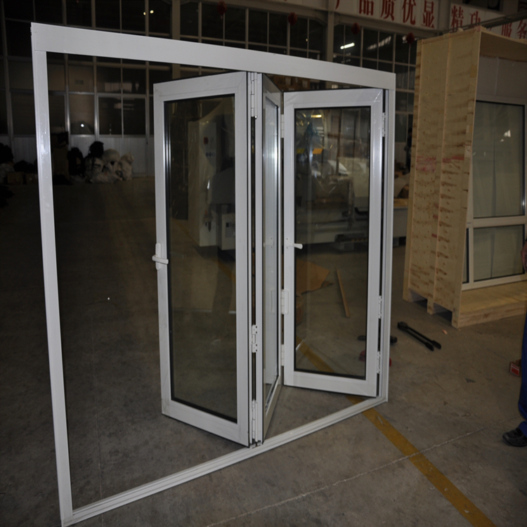 Interior bi-folding Window
