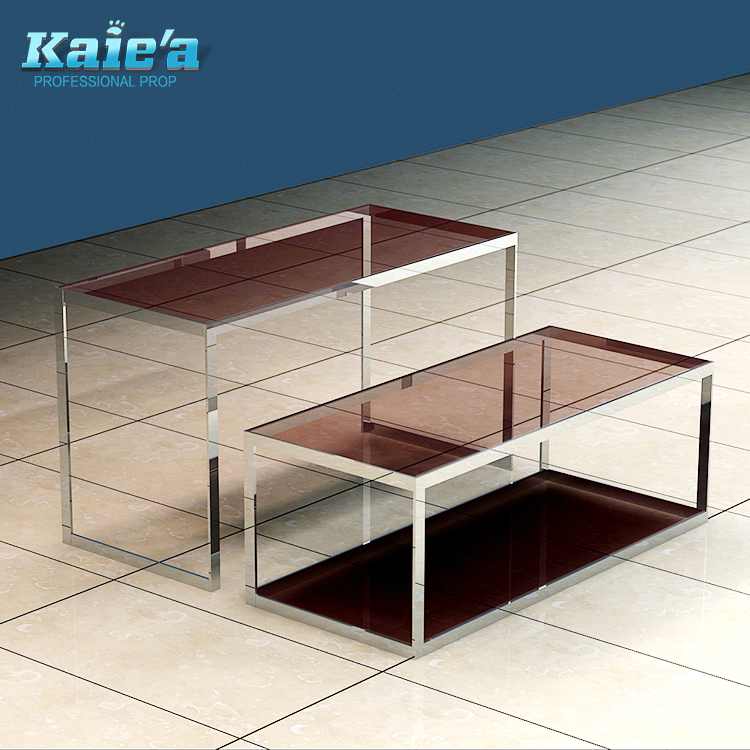 Glass Top Display Tables/retail Display Table/boutique