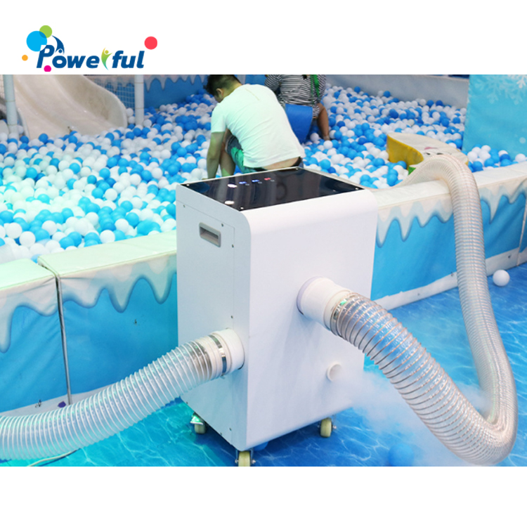 ball pool pit dry washing ball machine plastic ocean ball indoor playground  cleaning machine
