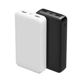 MIQ New product 20000mah power bank Portable Charger Dual USB charger power bank for mobile phone
