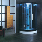 Chinese indoor enclosed square sauna steam shower room