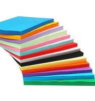 A4 size Color printing paper/ Yellow Green Red Blue Pink Black Color paper