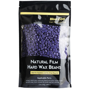 250g-1 Pack Non Strips Hard Lavender Flavor Wax Beans Pellet Painless Depilation Female Hair Removal Body Waxing