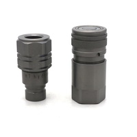 Hydraulic Quick Connect Fitting Flat Face Coupling