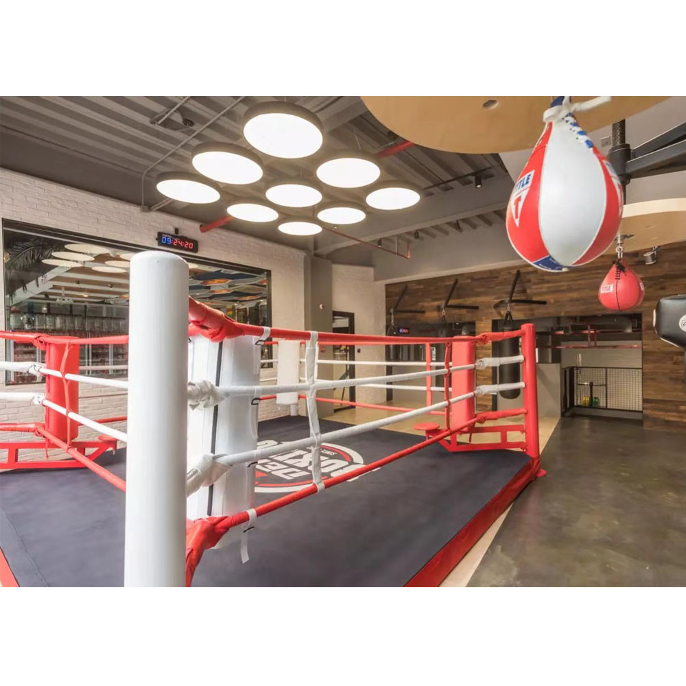 Custom aiba 7m*7m AIBA Approved Boxing Ring Canvas