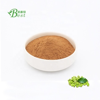 Natural weight loss quality green coffee bean extract/chlorogenic acid 50%/cas no.327-97-9