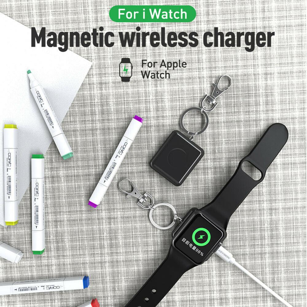 Pengisian Nirkabel untuk Apple Watch Charger Dock Magnetik untuk IWatch Charger 4 3 2 1 Apple Watch Serie