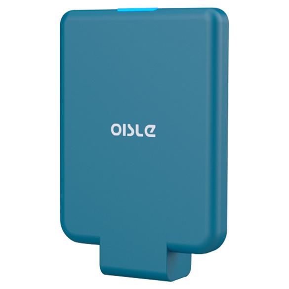 OISLE pequeño inalámbrico QI banco de potencia 5V 2A de carga rápida cargador inalámbrico para iPhone Samsung Huawei
