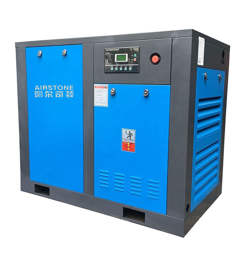 50hp 37kw Permanent Magnet motor variable frequency oil free screw air compressor
