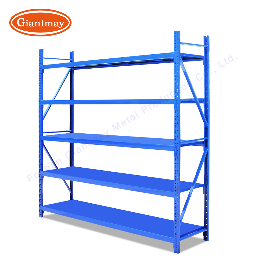 Giantmay Medium Duty Meral Warehouse Shelves Tool Rack For Garage