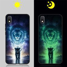 Светящийся чехол для samsung Galaxy A50, A30, A20, A40, A70, A10, силиконовый кожаный чехол для телефона, светящаяся задняя крышка, Funda Capa Coque(Китай)