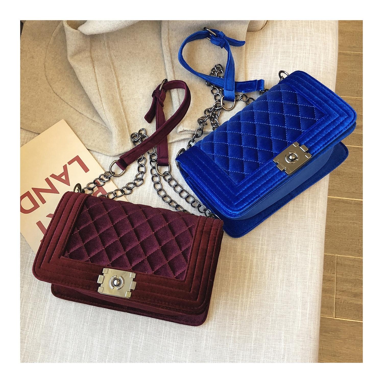 2020 New custom designer winter velvet luxury fashion girls jelly private label multi color purses handbags women hand bags bag