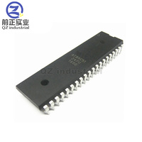 QZ industrial china suppliers new and original warehouse electronic components 8-bit Microcontroller DIP40 AT89C51-24PU