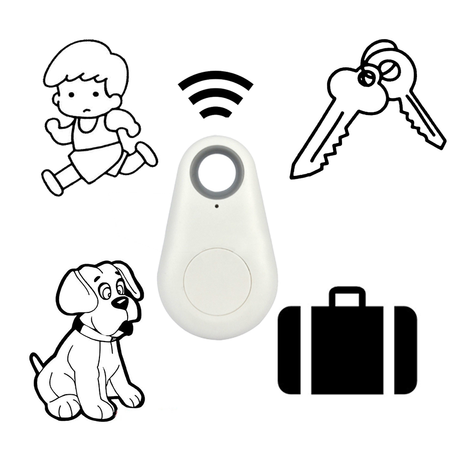 Promotional Smart Wireless Key Finder Bluetooth 4.0 ble Gps Tracker Anti lost alarm Tag Child Bag Pet Locator