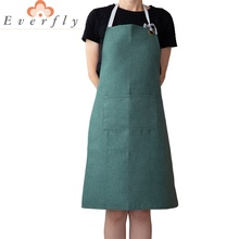 Wholesale Heat Proof Chef Waiter Kitchen Cooking Polyester Custom Apron Design