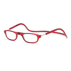 DHK054 Folding design fancy cheap promotion style ce plastic magnetic reading glasses