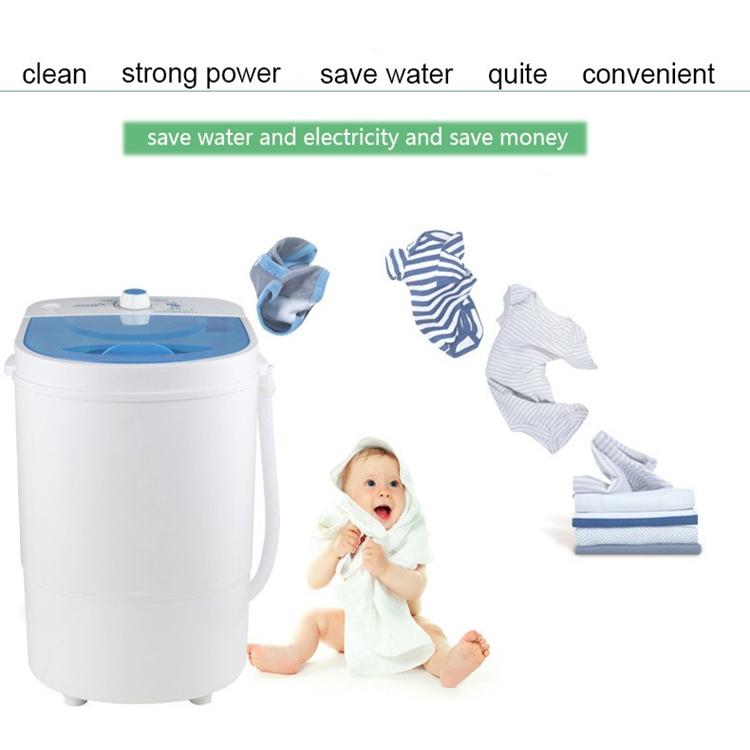 Single Barel Mini Asrama Mesin Cuci, Ibu dan Anak Khusus Rumah Tangga Mesin Cuci Mini Shake-Dry Ember