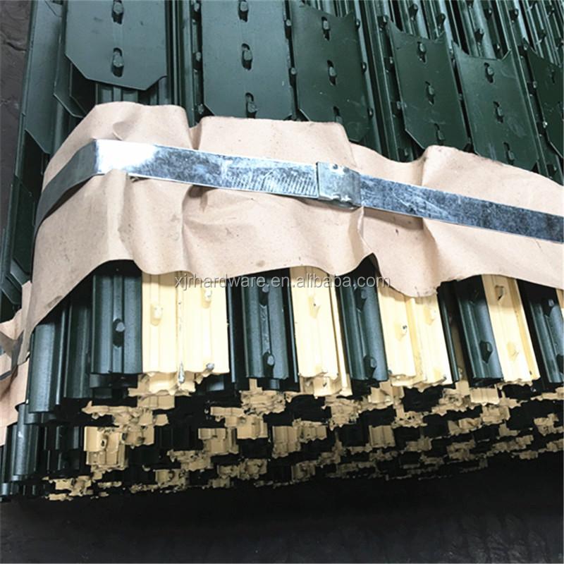 1.25lbs/ft pertanian digunakan hijau dicat t studded post
