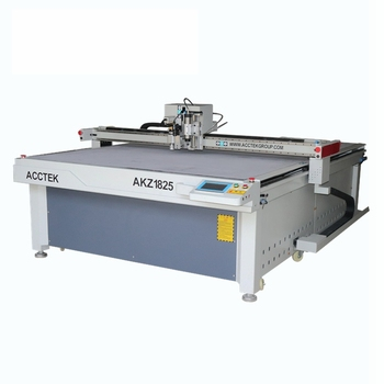 Fabric leather cloth cutting machinery with oscillating knife/ Mutli heads oscillating knife cnc cutter for sale AKZ1625