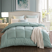 Wholesale Natural 100% down feather quilted bed comforter price king size down comforter