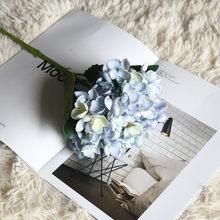 Искусственный цветок, искусственный Шелковый цветок, аксессуары для украшения дома, Гортензия, Свадебный декор, Цветочный декор, домашний д...(Китай)