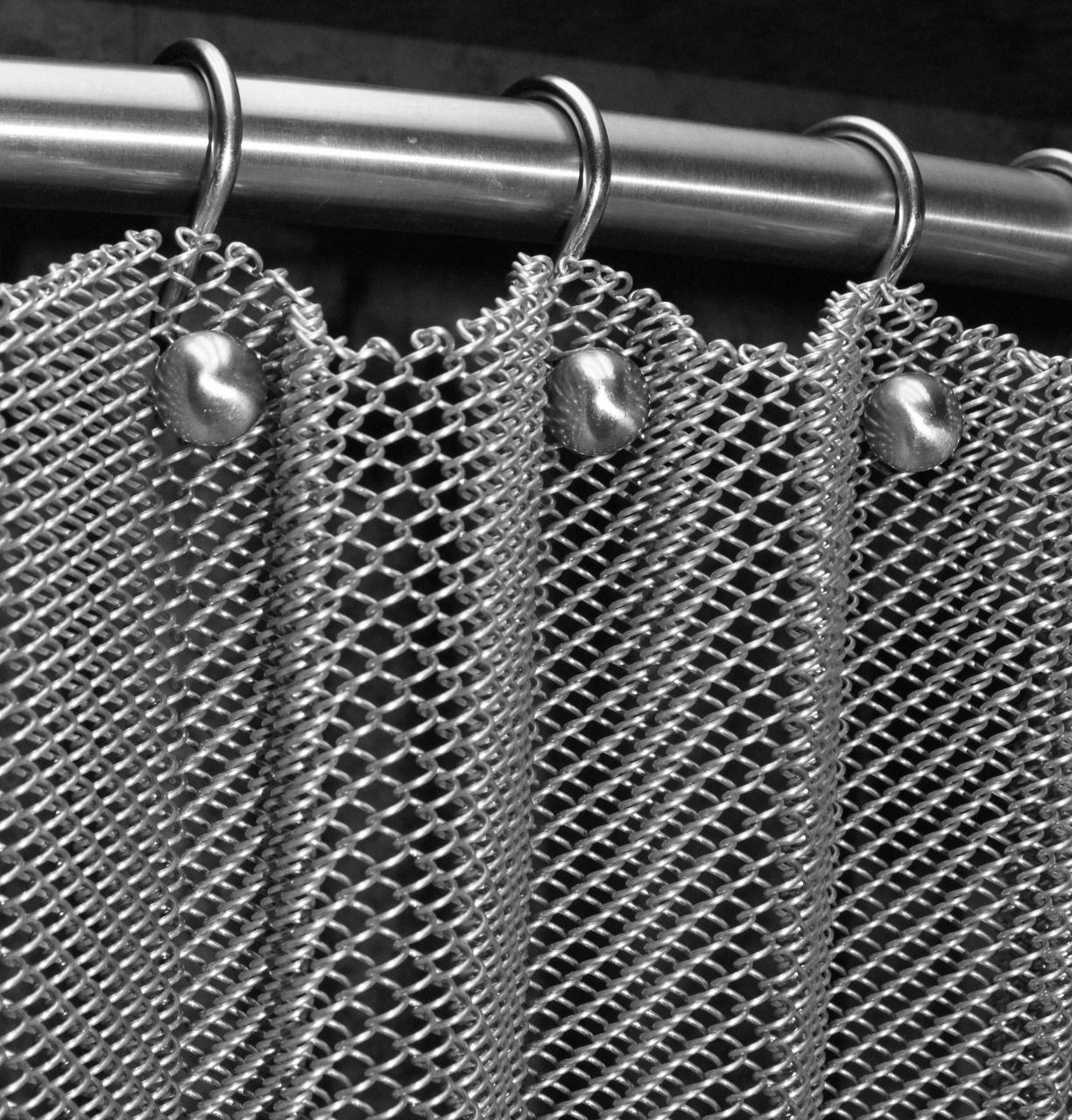 Decorative Wire Mesh Aluminum Chain Curtain Weave Metal Fabrics Buy Flexible Metal Mesh Fabric Decorative Metal Chain Door Curtain Metal Ball Chain