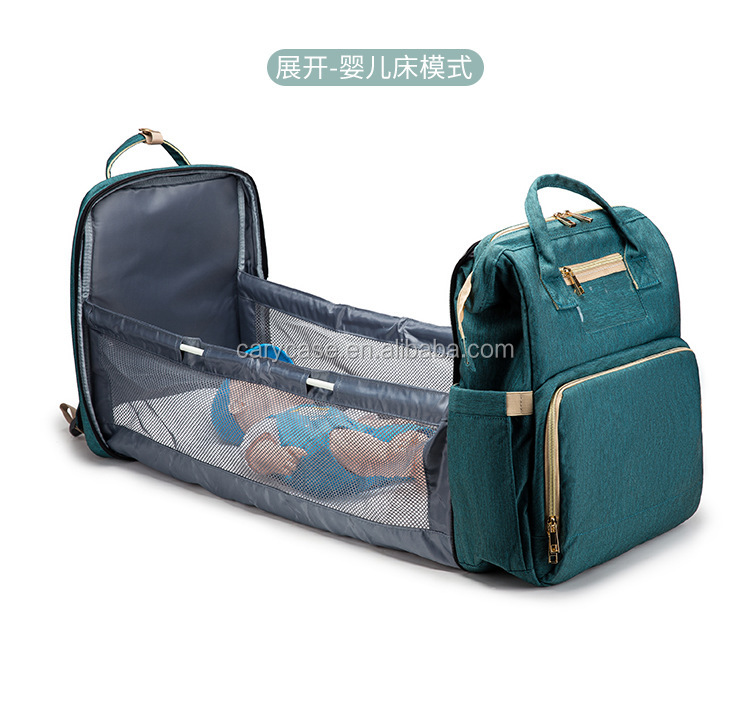 FOLD multi functional TWO in One baby carrier beds, mummy bags bedding, diaper bag beds
