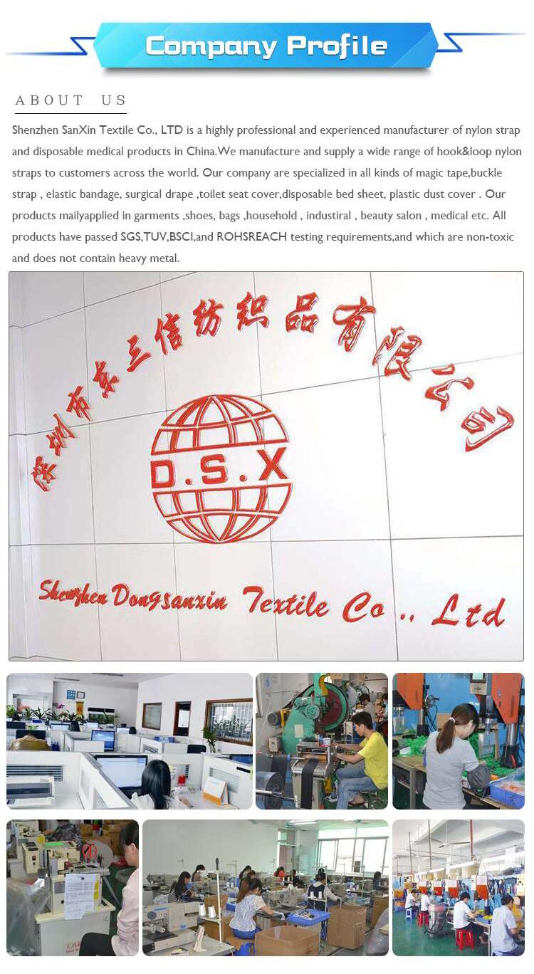 中国製ストレッチ弾性フックとループケーブルバックルストラップ