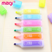 Produsen Top 6 Warna Neon Stabilo Spidol Set
