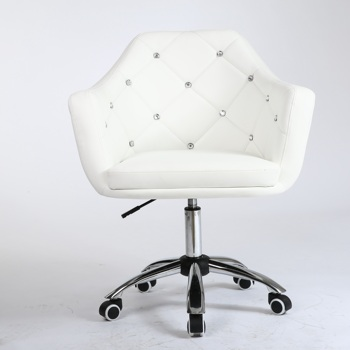 Cheap White Styling Chair Salon Furniture wholesale beauty Barber Chair with hyderaulic pump
