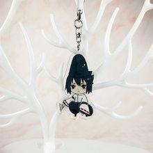 2020 Наруто брелки Sasuke/itachi/Kakashi двухсторонняя акриловая цепочка для ключей Подвески Аксессуары для аниме мультфильм брелки(Китай)