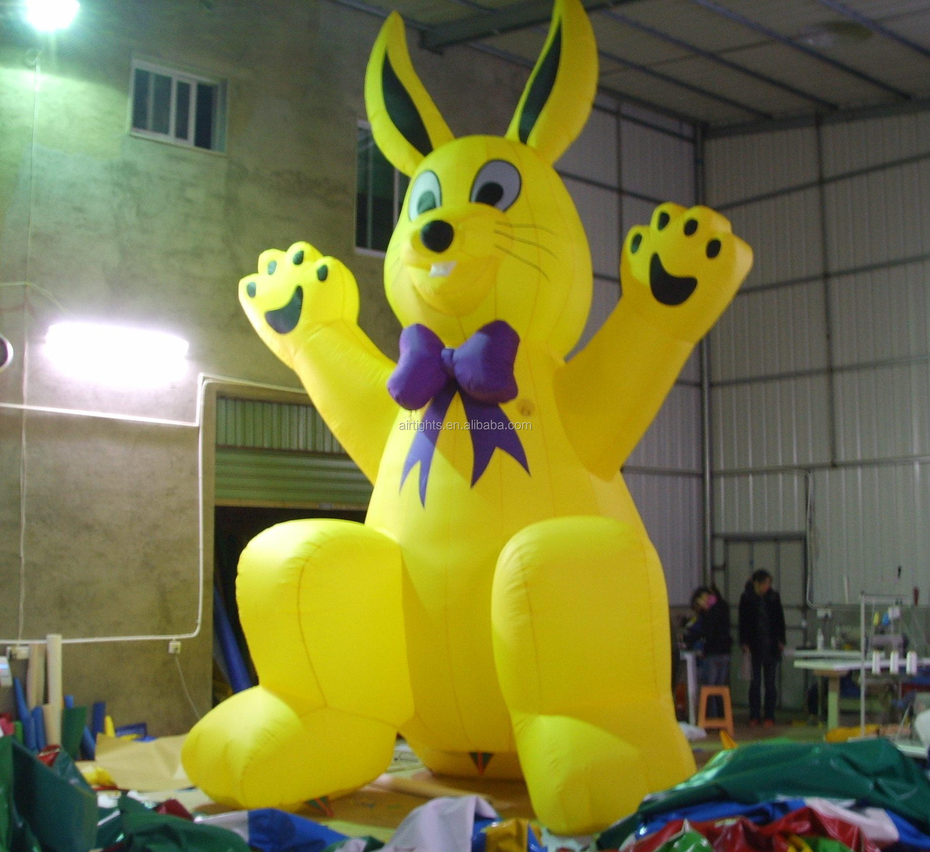 Lovely Inflatable Cartoon Good Price Big Inflatable Rabbit