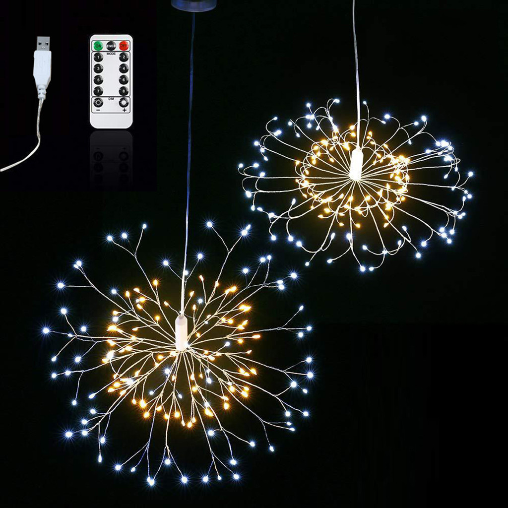 Wholesale led fireworks lamp home interior decoration lamp activity atmosphere building lamp
