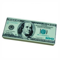 promotional slow rising US dollar shape stress ball