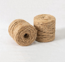 Natural juta guita 3mm 3ply 50 meters carretel <span class=keywords><strong>de</strong></span> corda <span class=keywords><strong>de</strong></span> juta