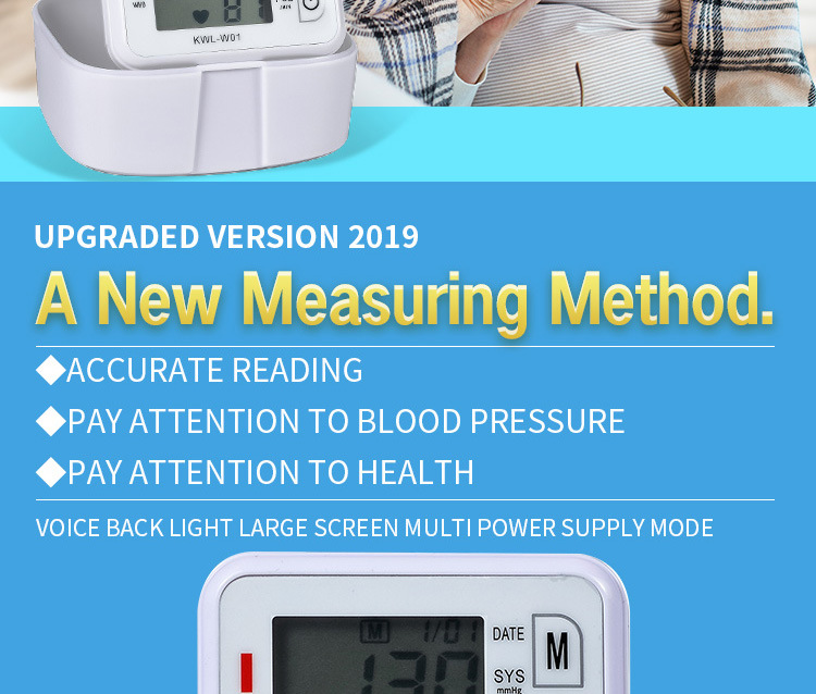 wrist Blood Pressure Monitor ,510(k),Digital Turgoscope Fitness Health&Personal Care  Equipment