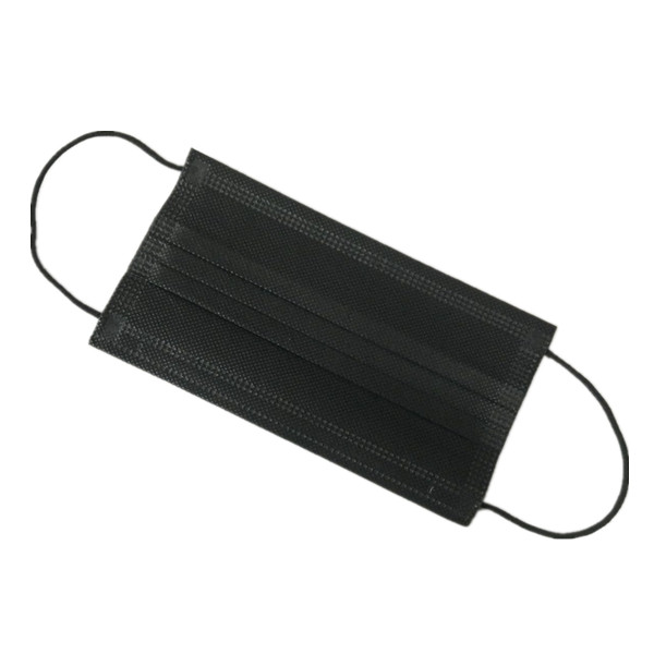 Medical Dental <strong>Protective</strong> Full Black Disposable nonwoven face mask