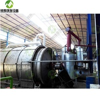 Automatic Waste Oil Recycling to Diesel Machine