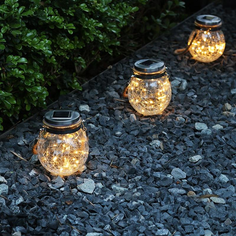 Высокое качество на солнечных батареях Светодиодные гирлянды садовые декоративные рождественские праздничные светодиодные фонари