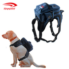 Custom Dog Backpack Carrier Adjustable Dog Harness Dog Saddle Bag