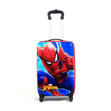 Customized Logo ABS Durable Fashion Wholesale 360 Degree Rotating 18 Inch Kids 4 Wheels Luggage