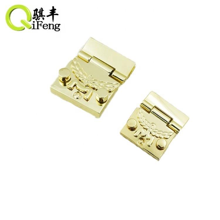 QIFENG Fashion square metal push lock for bag